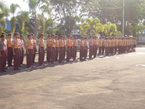 peserta upacara